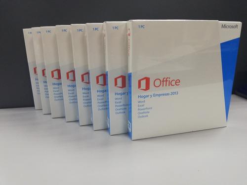 office 2013 hogar y empresas sellados.