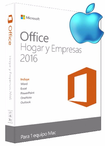 office 2016 mac hogar y empresa