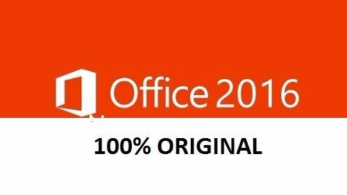 office 2016 pro 32/64 bits licencia digital original 1 pc