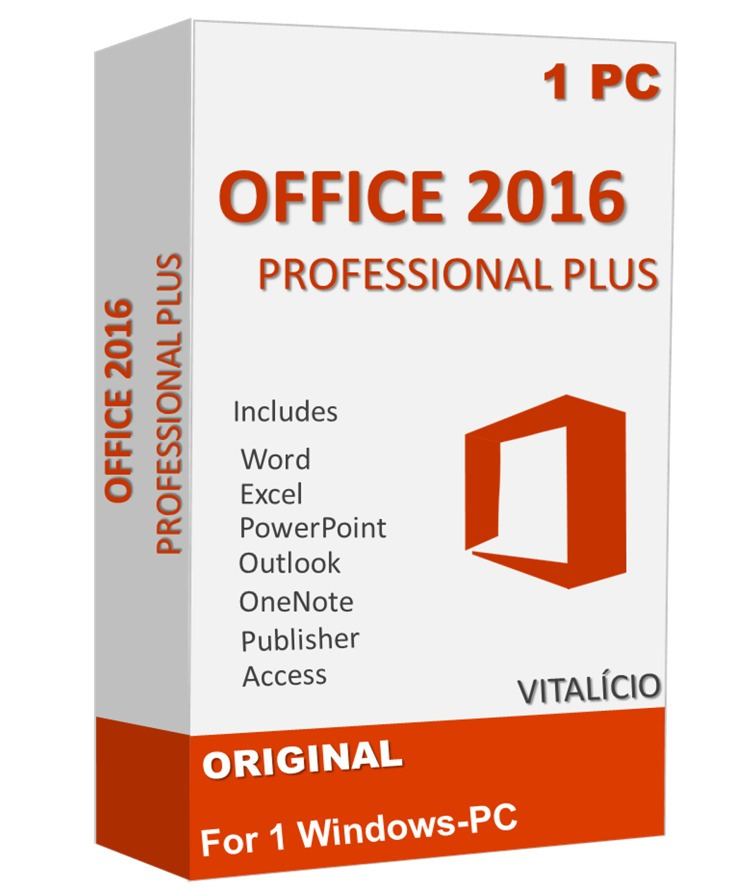chave ativacao microsoft office professional 2016