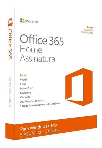 office 365 hogar (1 año) hasta 6 personas