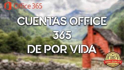 office 365 onedrive, de por vida, permanete con garantía