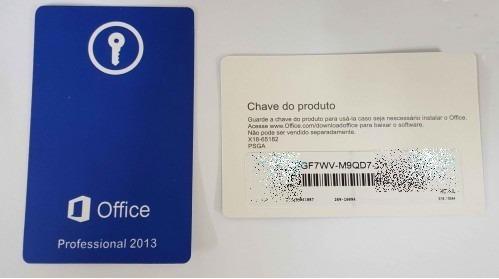 office professional 2013 fpp esd produto físico.