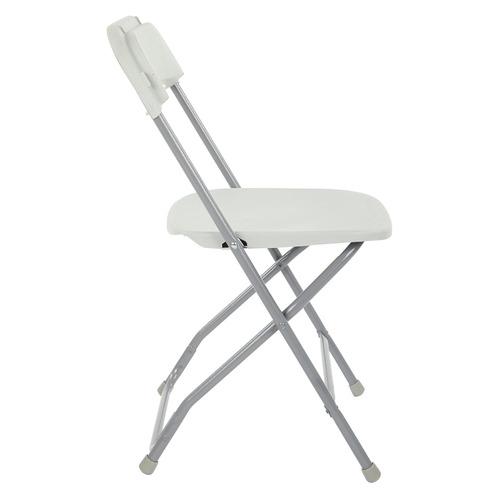 office star resin - juego de mesa y silla plegable de 5 p