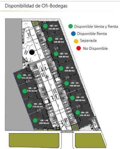 ofi- bodegas   en nuevo business park & plaza al suroeste de la ciudad de merida. en venta y renta