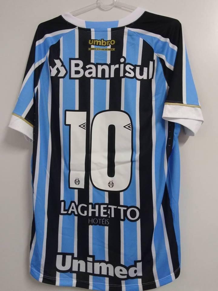 1b51518c1f Oficial Nota Fiscal! Camisa Gremio Game Jogador Umbro 2018 - R  209 ...