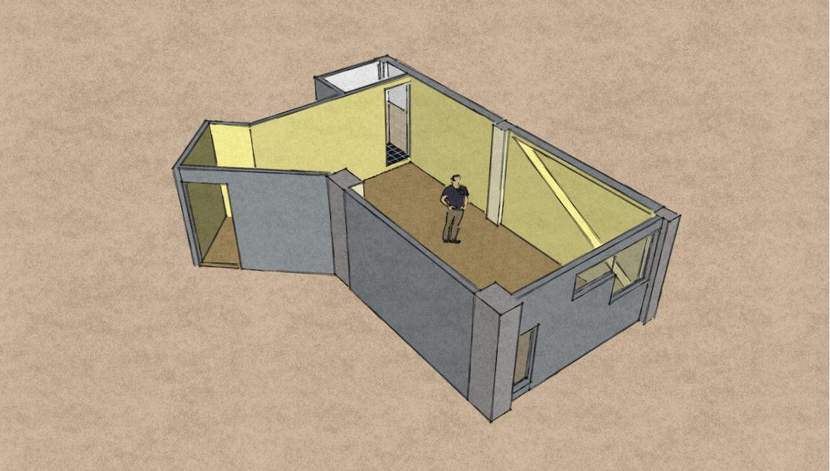 oficina 1 ambiente, edificio con todos los servicios