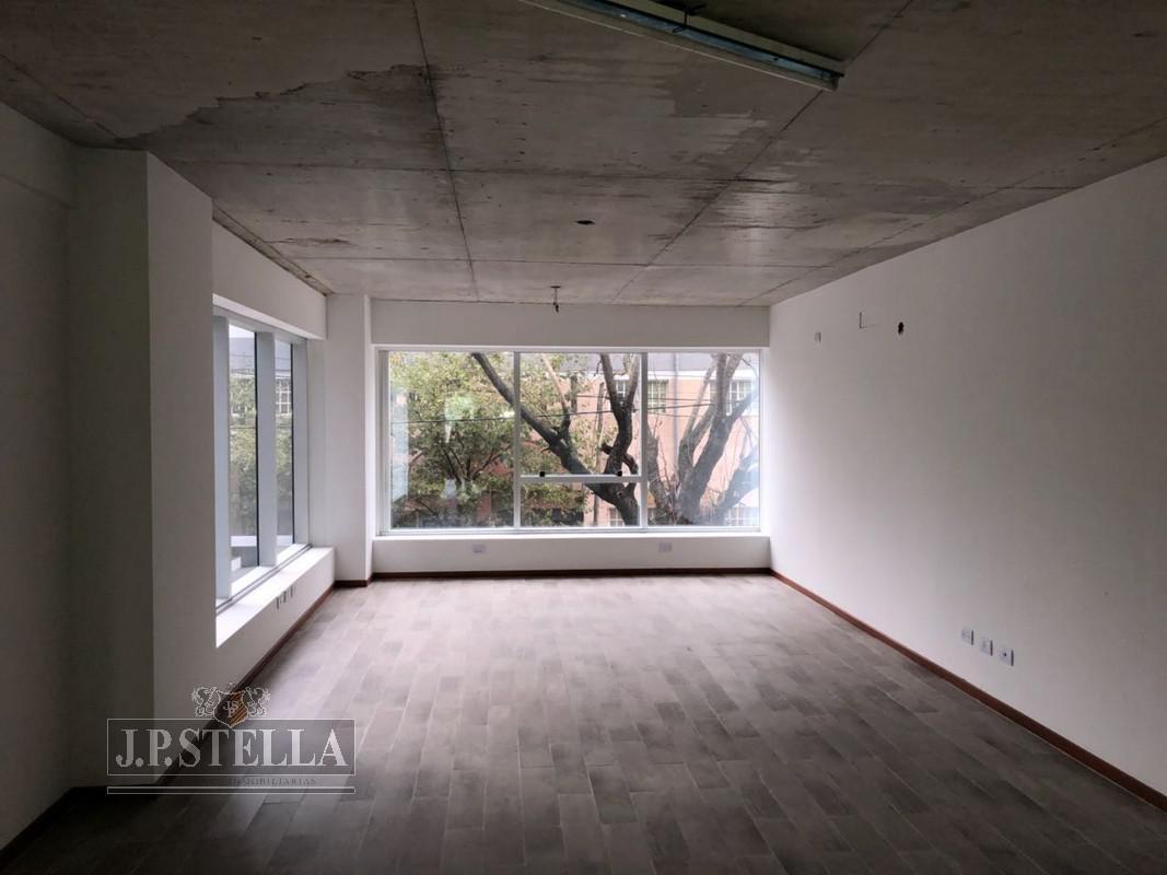 oficina a estrenar 48 m2 en torre edificio francisco h. - s.justo (ctro)