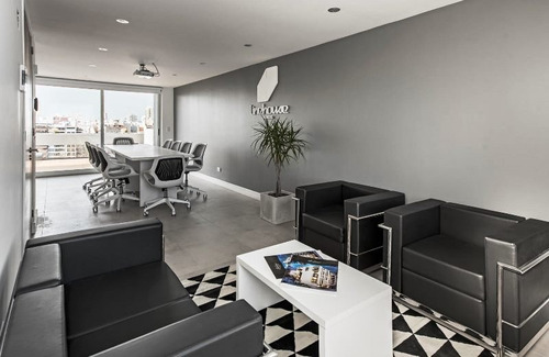 oficina a estrenar de 70m² con cochera. plaza mitrte.