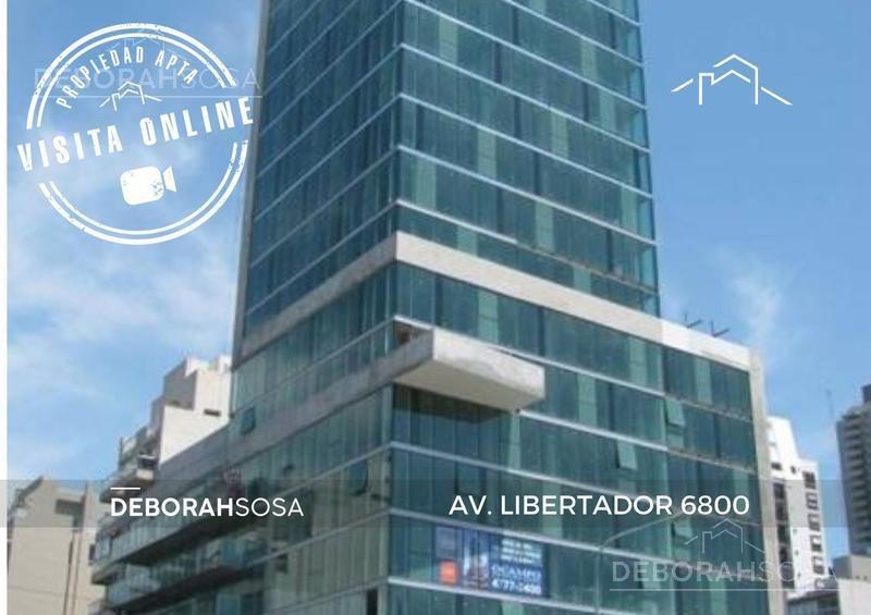 oficina aaa en venta - sobre av. libertador con vista al rio!