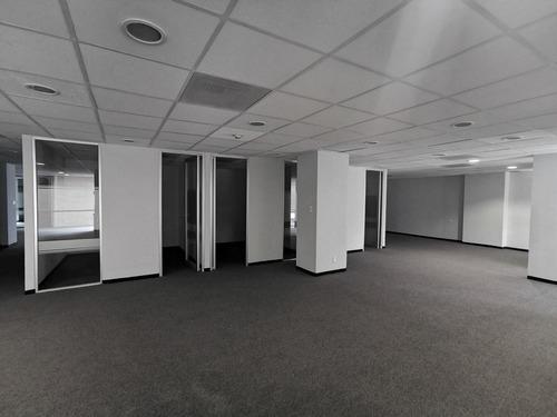 oficina acondicionada en renta - anzures