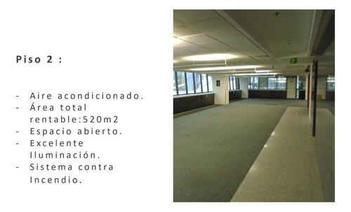oficina acondicionada en renta en av. magnocentro