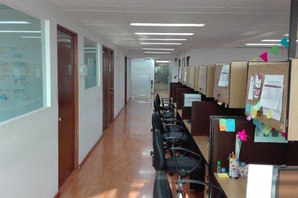 oficina acondicionada en renta - insurgentes sur