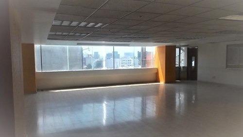 oficina acondicionada en renta piso 5 , 350m2