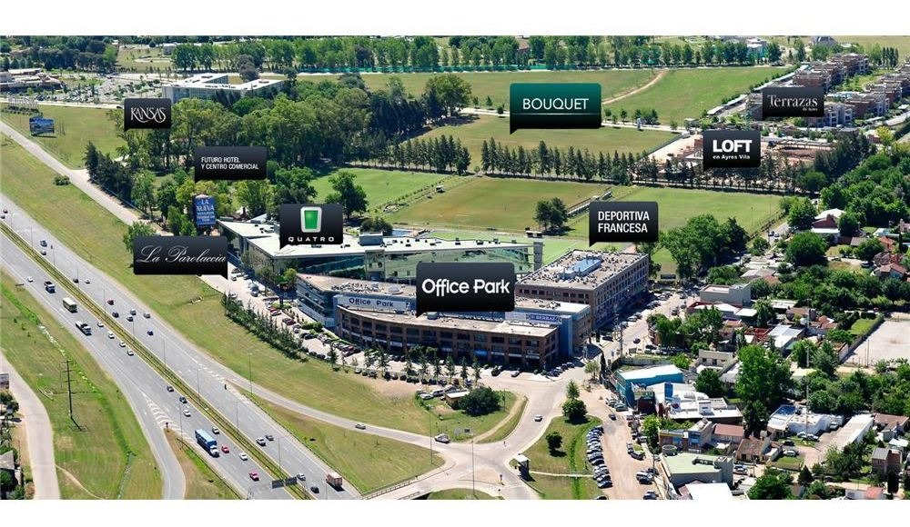 oficina alquiler 160mts2 office park norte