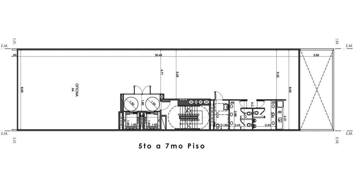 oficina - alquiler - parque patricios - 237m2