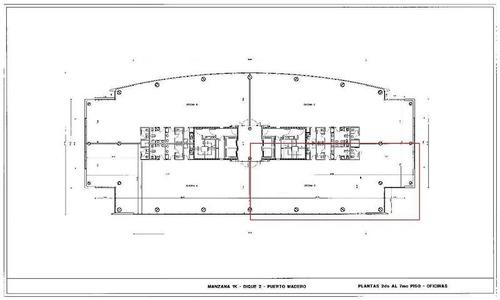 oficina alquiler puerto madero av juana manso 1661  ezcurra 365