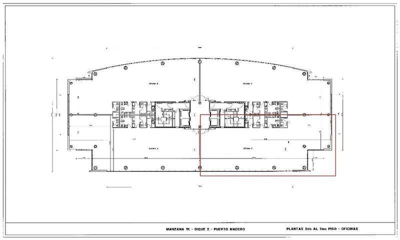 oficina alquiler puerto madero av juana manso 1661  ezcurra al 300