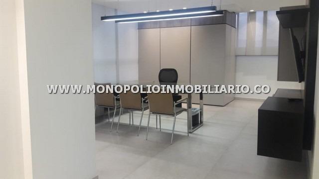 oficina amoblada en renta - poblado aguacatala cod: 12833