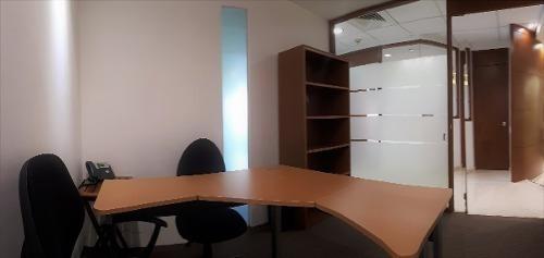 oficina amueblada con servicios incluidos en santa fe, 13 m2