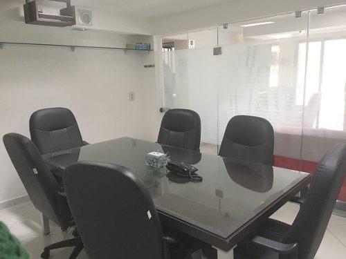 oficina amueblada en renta