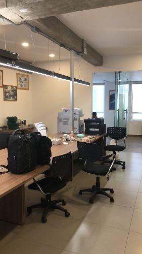 oficina amueblada en renta en san angel