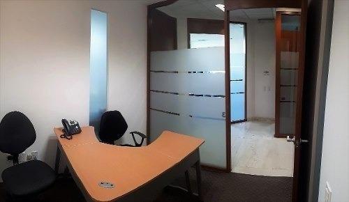 oficina amueblada por horas en santa fe, 11 m2 con servicios