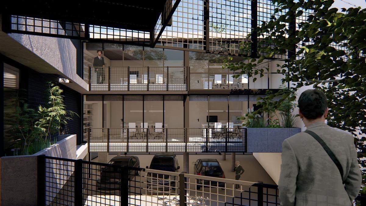 oficina - barrio parque leloir
