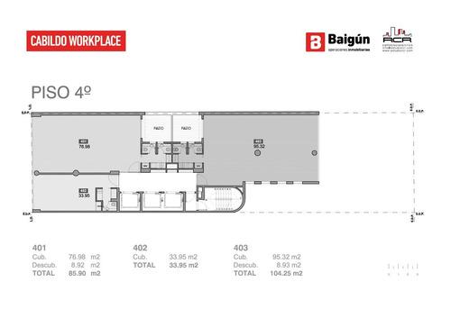 oficina - belgrano c