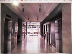 oficina c.c. trigaleña plaza. amoblada. wc
