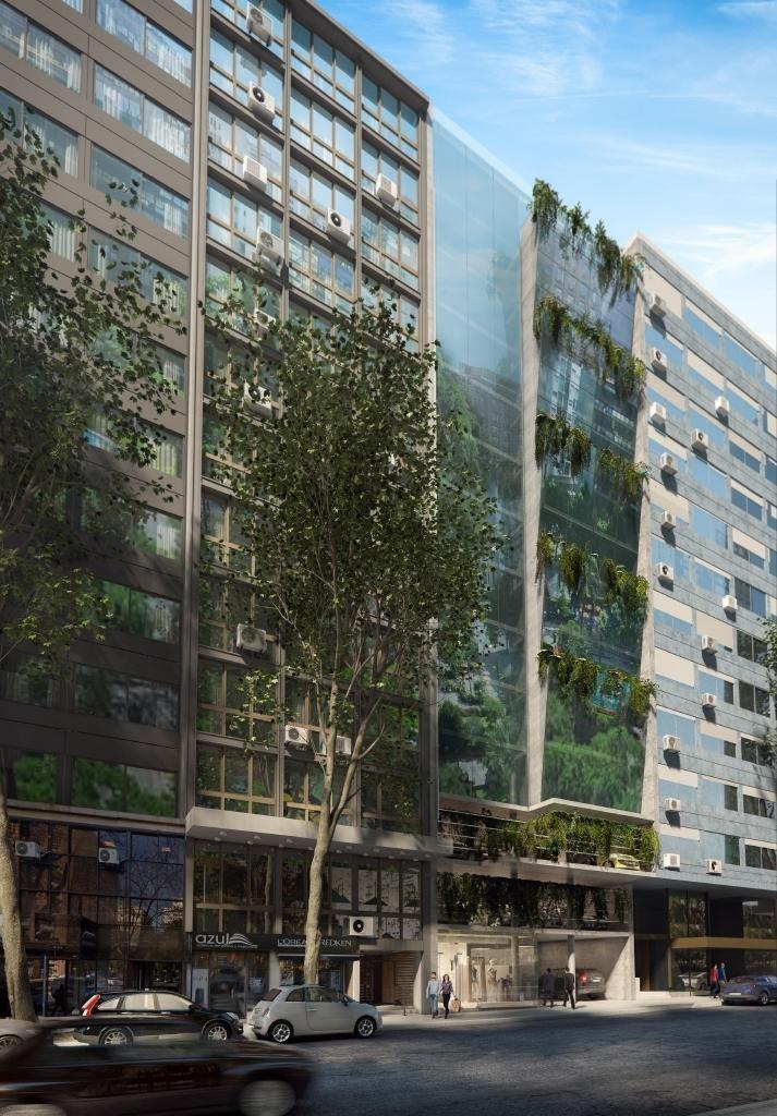 oficina centro venta, río negro y 18 de julio, ed green tower!