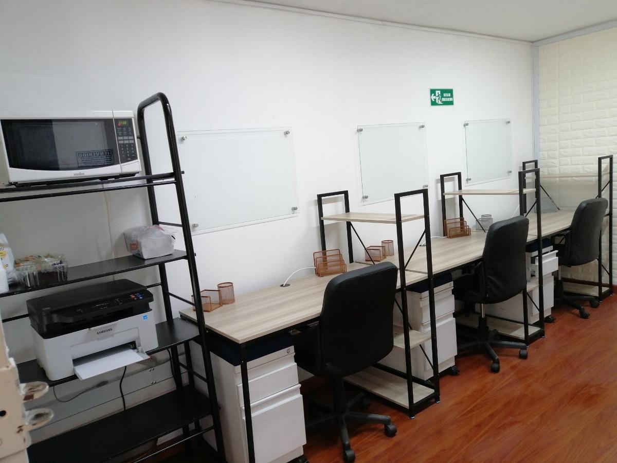 oficina compartida co-working hermosos módulos de trabajo