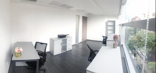 oficina completamente equipada en renta para 10 personas en colonia granada.