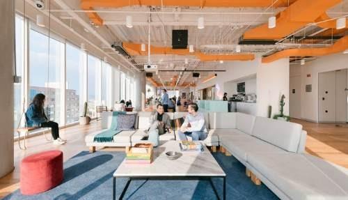 oficina completamente equipada para 8 personas en lomas de santa fe.