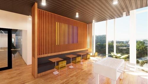 oficina completamente equipada, servicios incluidos para 15 a 20 personas. au
