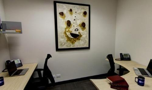 oficina completamente equipada, servicios incluidos para 8 a 10 personas.