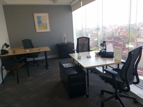 oficina completamente equipada, servicios incluidos para 8 personas. ad
