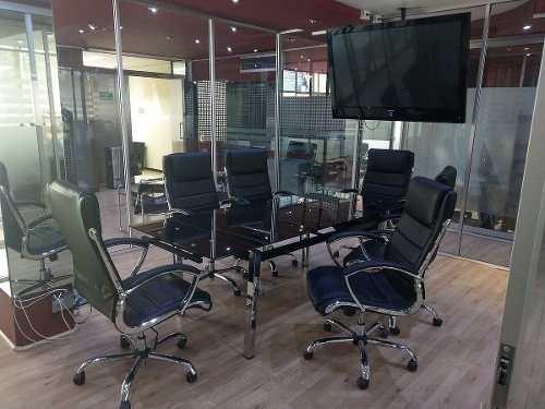 oficina completamente equipada, servicios incluidos para hasta 2 personas.