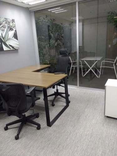 oficina completamente equipada, todos los servicios incluidos para 4 personas