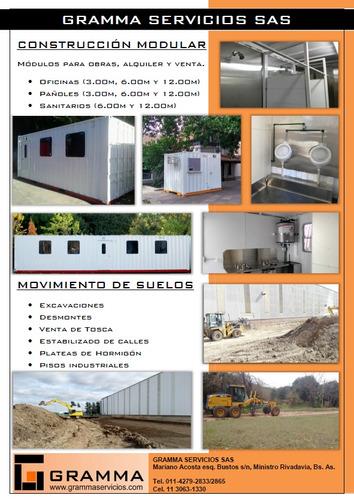oficina contenedor container - módulos alquiler y venta