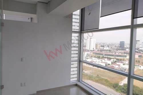 oficina corporativa en renta en torre jv 3, angelópolis, puebla