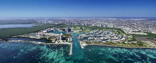oficina corporativa en venta, port marina, cancún.