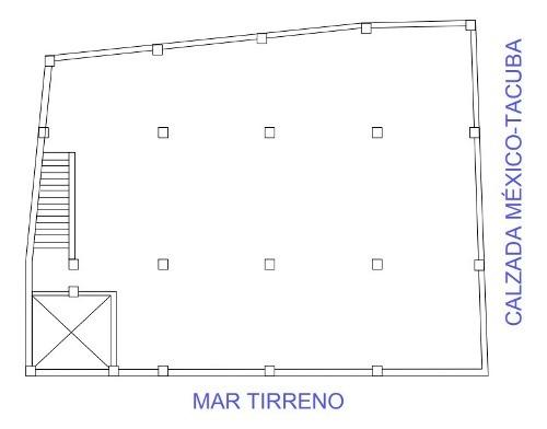 oficina de 345.24 m2, lista para utilizar, popotla.