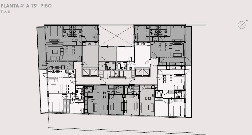 oficina de 55.72 m2 - calidad de construcción y amenities