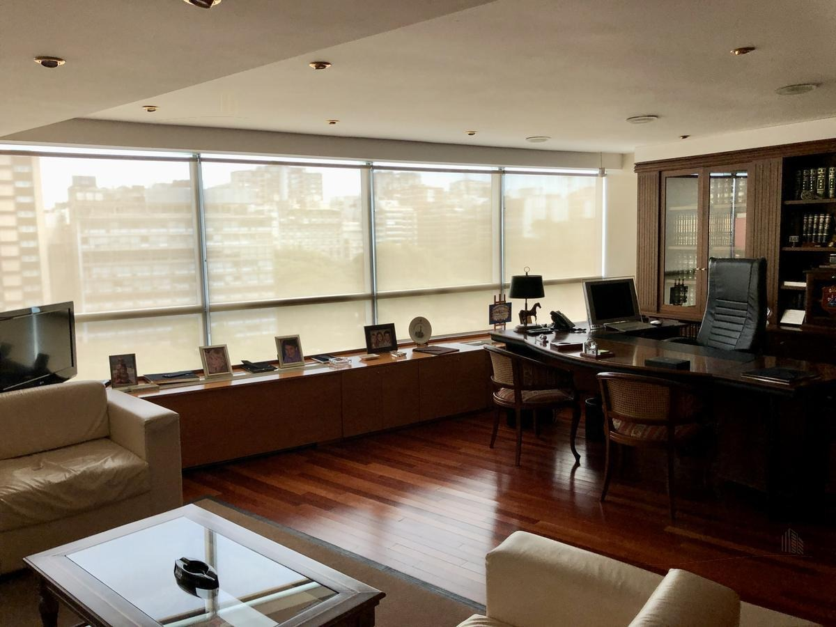 oficina de gran categoría - 180m2 - 2 cocheras  | carlos pellegrini 855