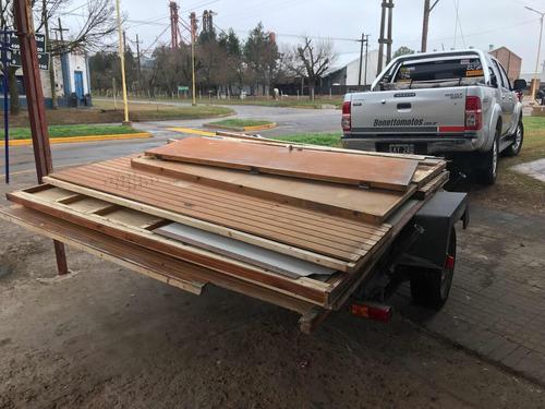 oficina de madera desmontable x 2 - financiación!
