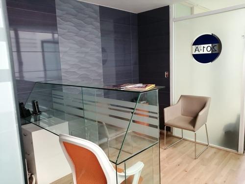 oficina dividida en renta de 100 m2 en hipódromo condesa