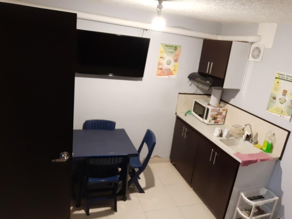 oficina dotada 44m2 con baño y cocina