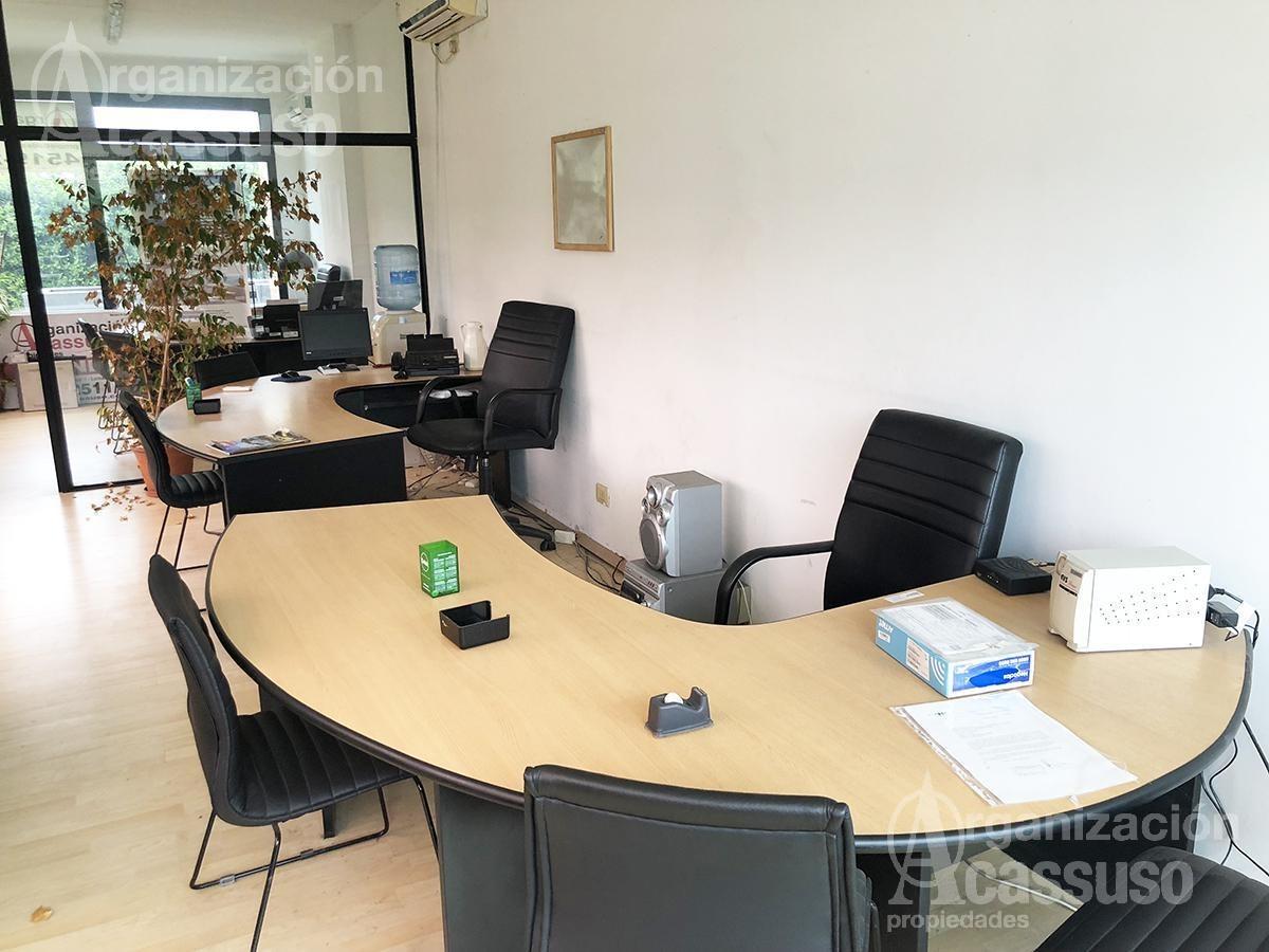 oficina en alquiler - 100% amueblada - lomas de san isidro - local