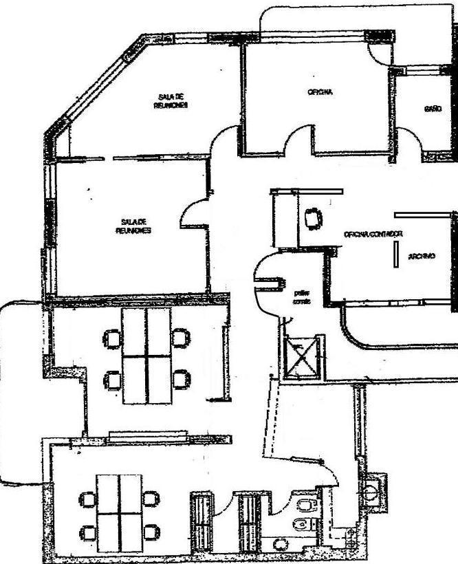 oficina en alquiler - 150 m2 - microcentro